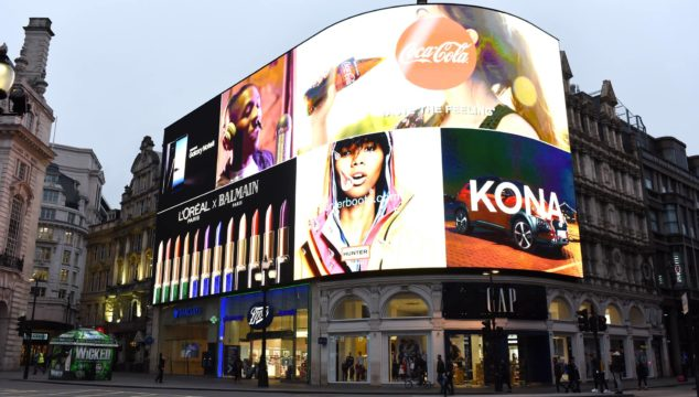 London Alert: The Iconic Lights in Piccadilly Circus Have Been Turned Back On!
