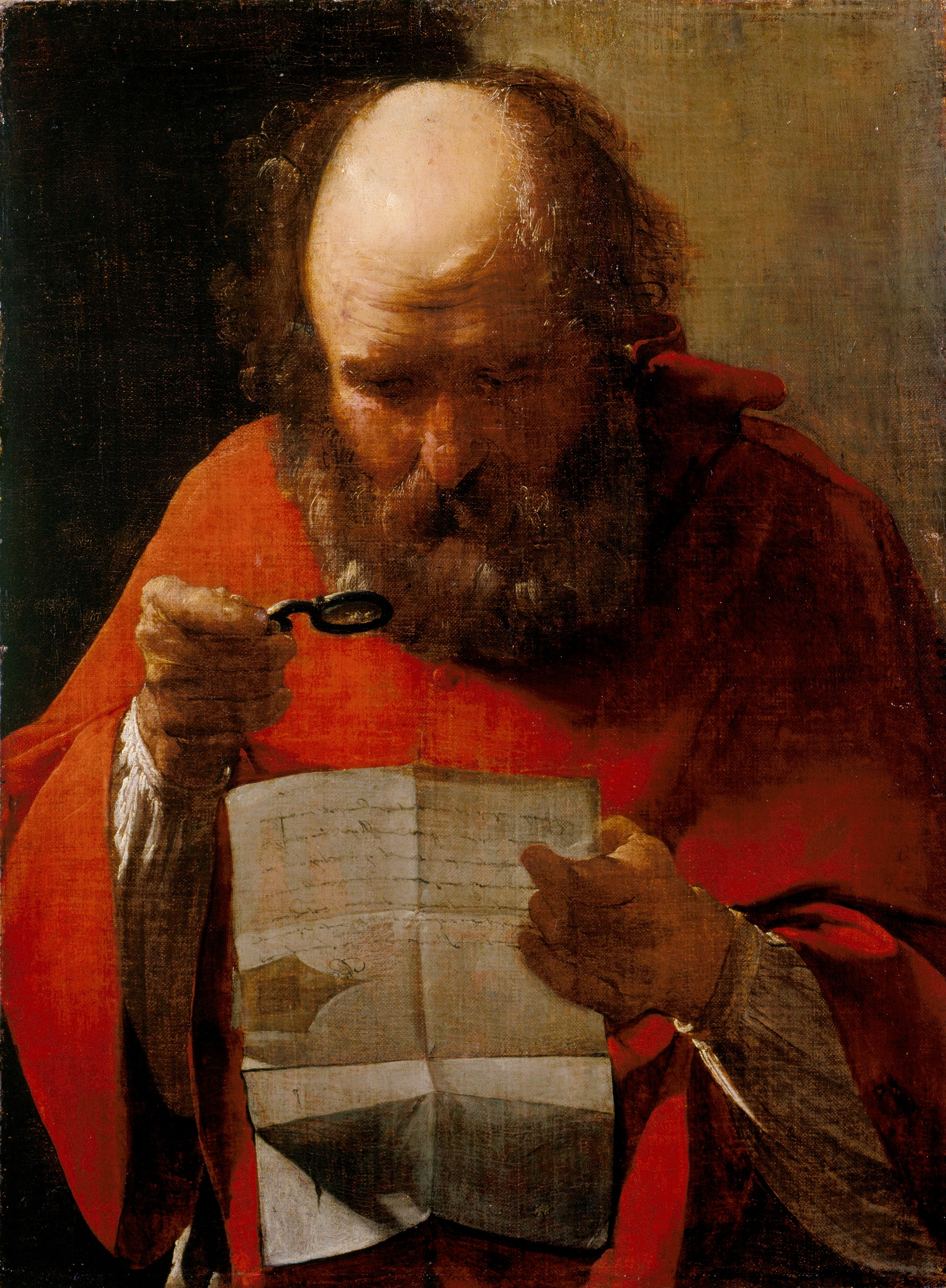 George de la Tour, Saint Jerome, c. 1621-23