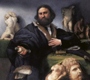 Lorenzo Lotto, Andrea Odoni, 1527