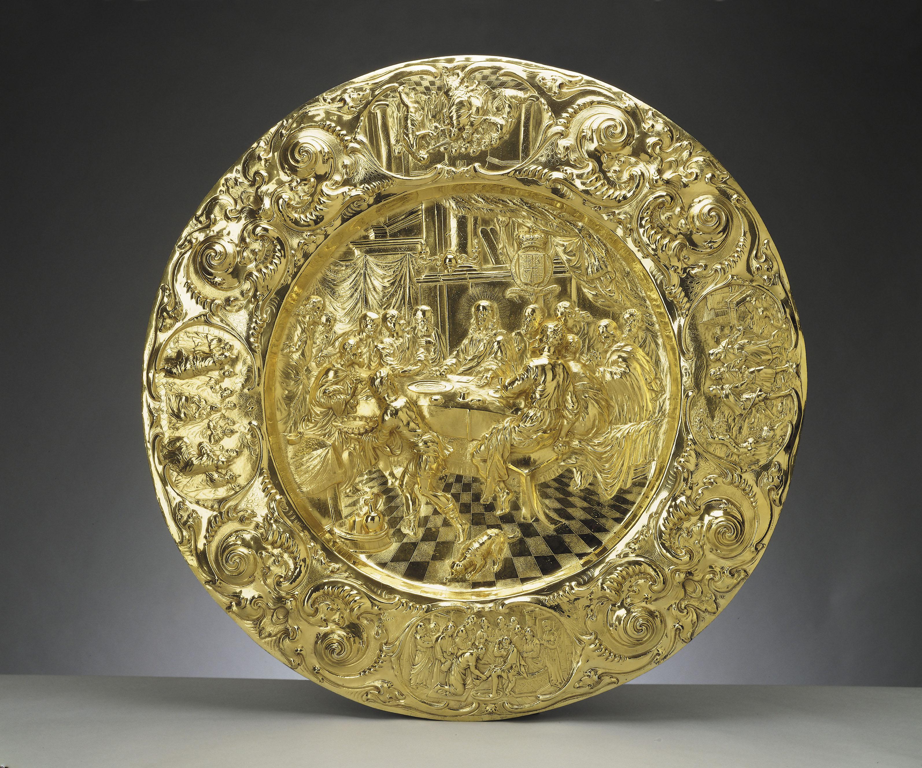 Henry Greenway, Alms dish, c.1660-61