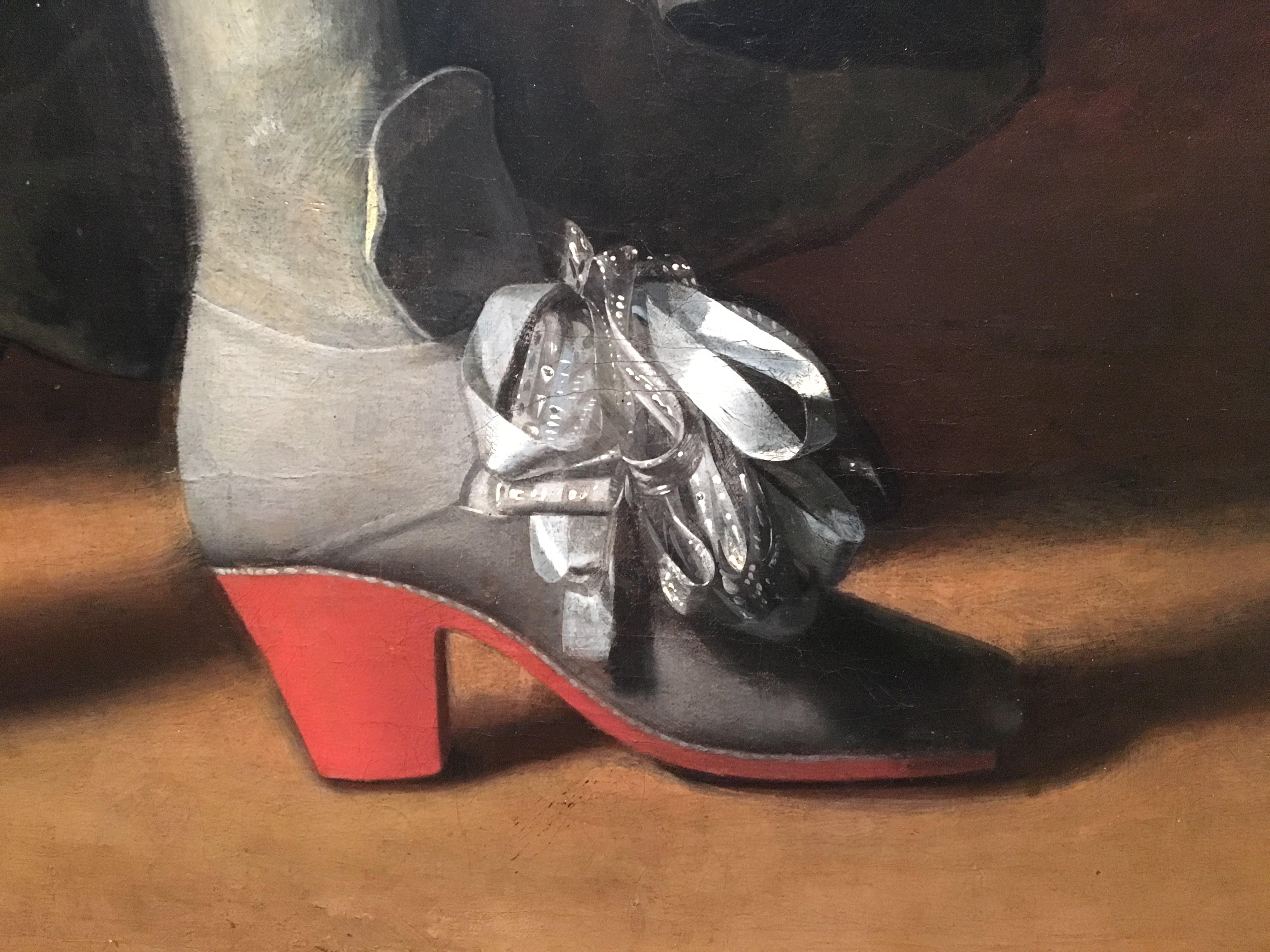 Charles IIs shoe