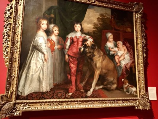The Five Eldest Children of Charles I and Henrietta Maria, 1637 by Anthony van Dyck