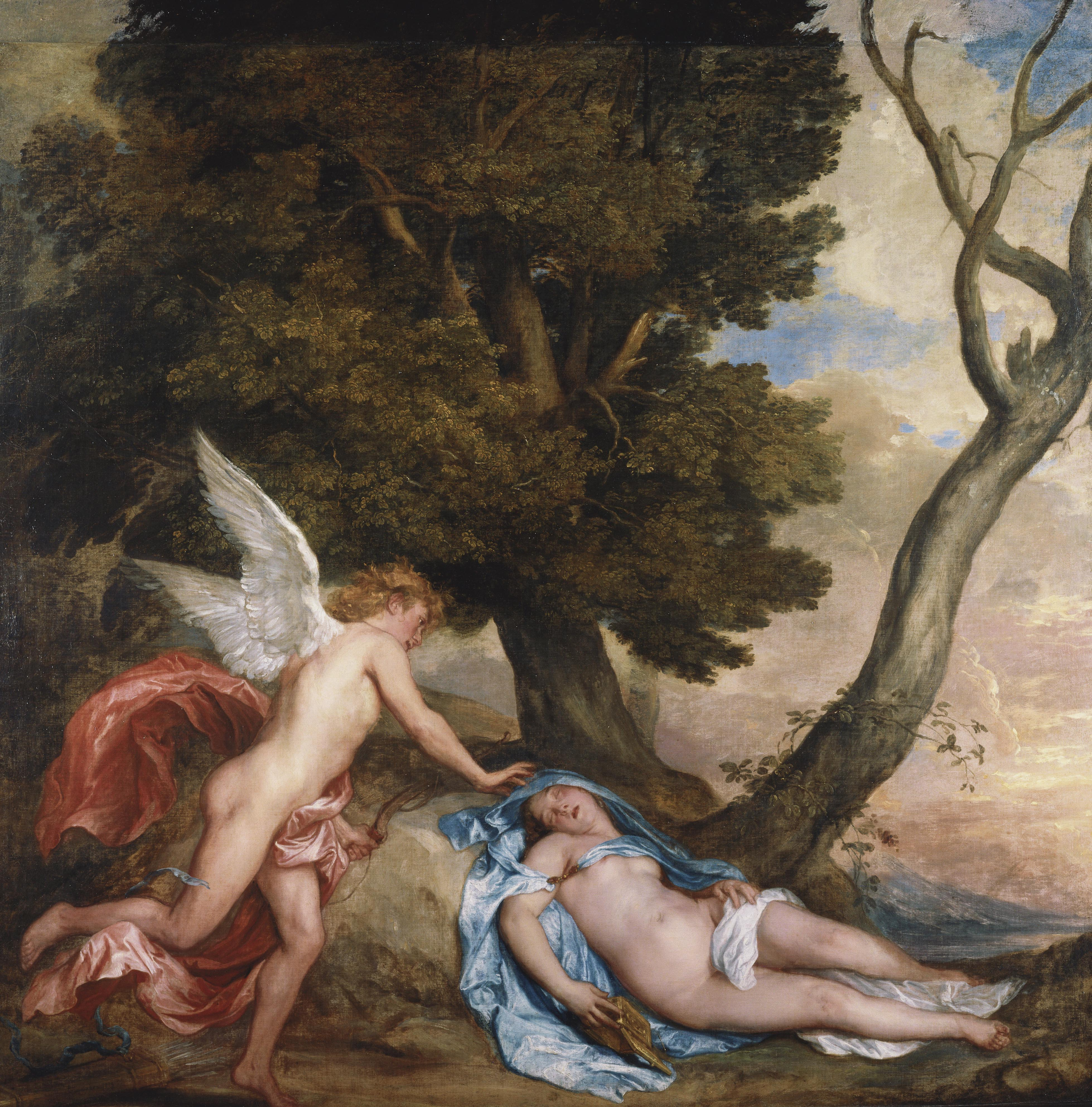 Anthony van Dyck, Cupid and Psyche,