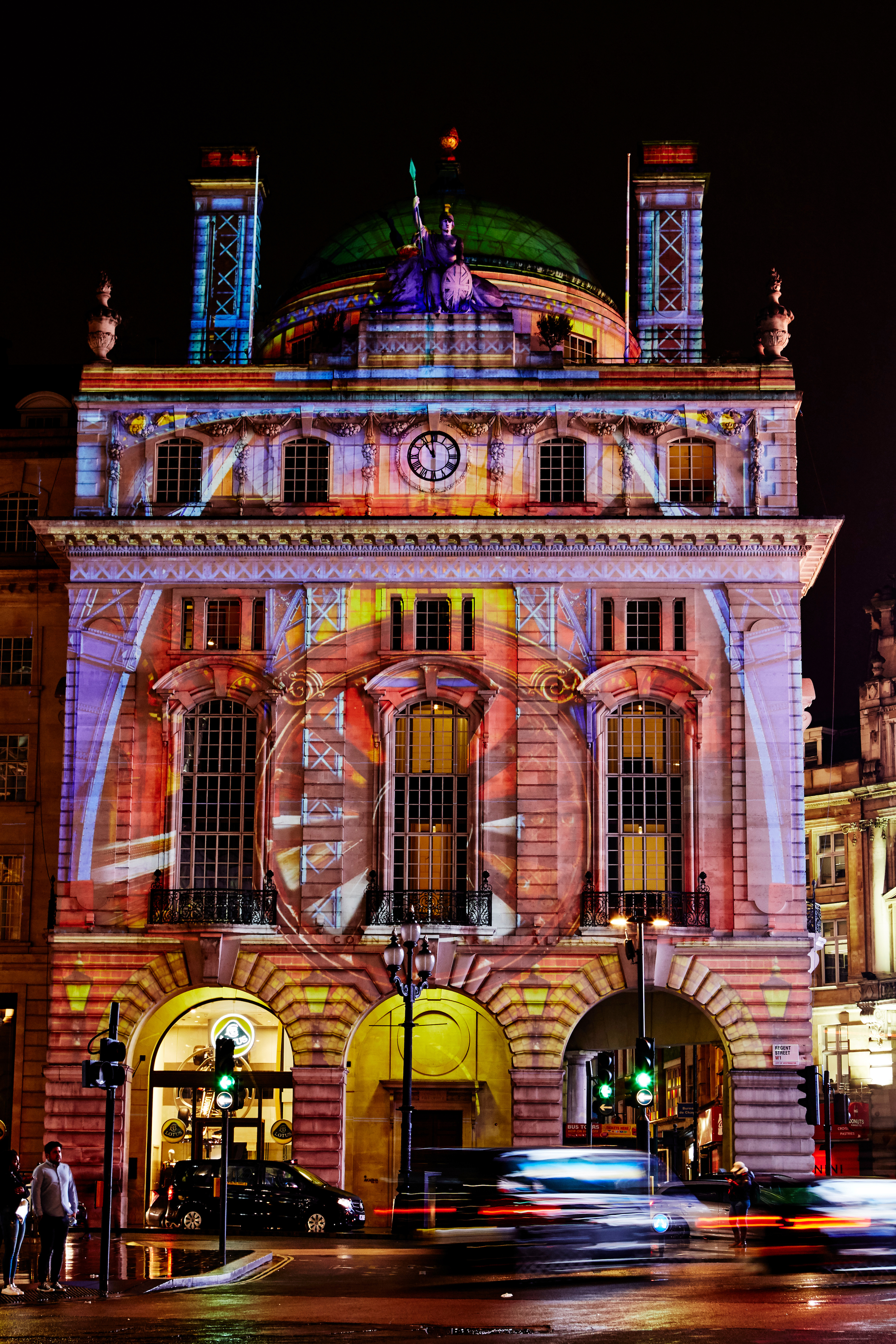 Voyage , Hotel Café Royal, Lumiere London 2018