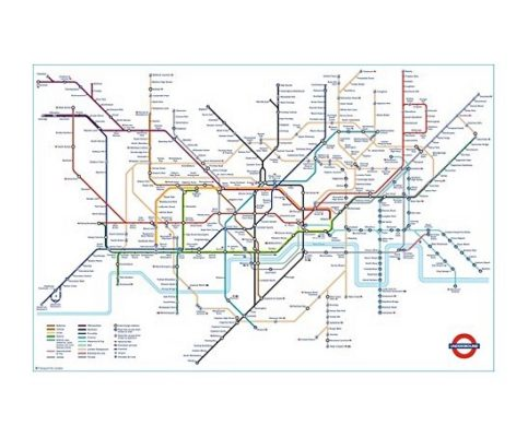 London Alert: Buy The Official London Underground Tube Map – Anglotopia Exclusive