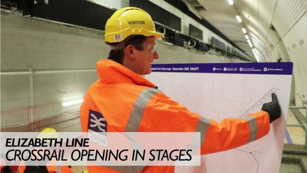 Video: The Basics of Crossrail – London's New Underground Line