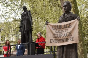 First Statue in Parliament Square of a Women Unveiled Today – Suffragist Leader Millicent Fawcett
