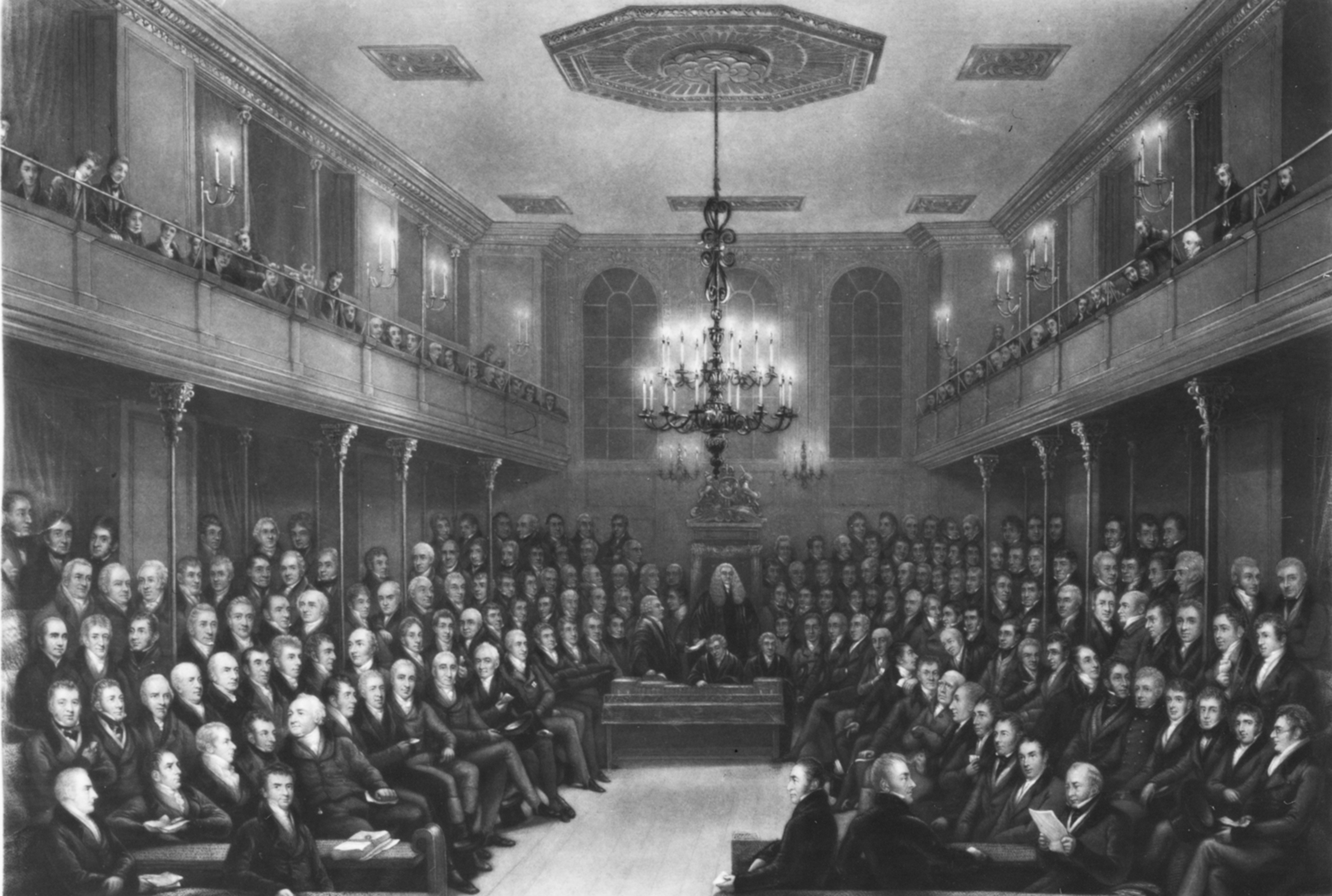 View of the Interior of the House of Commons during the Sessions 1821–23