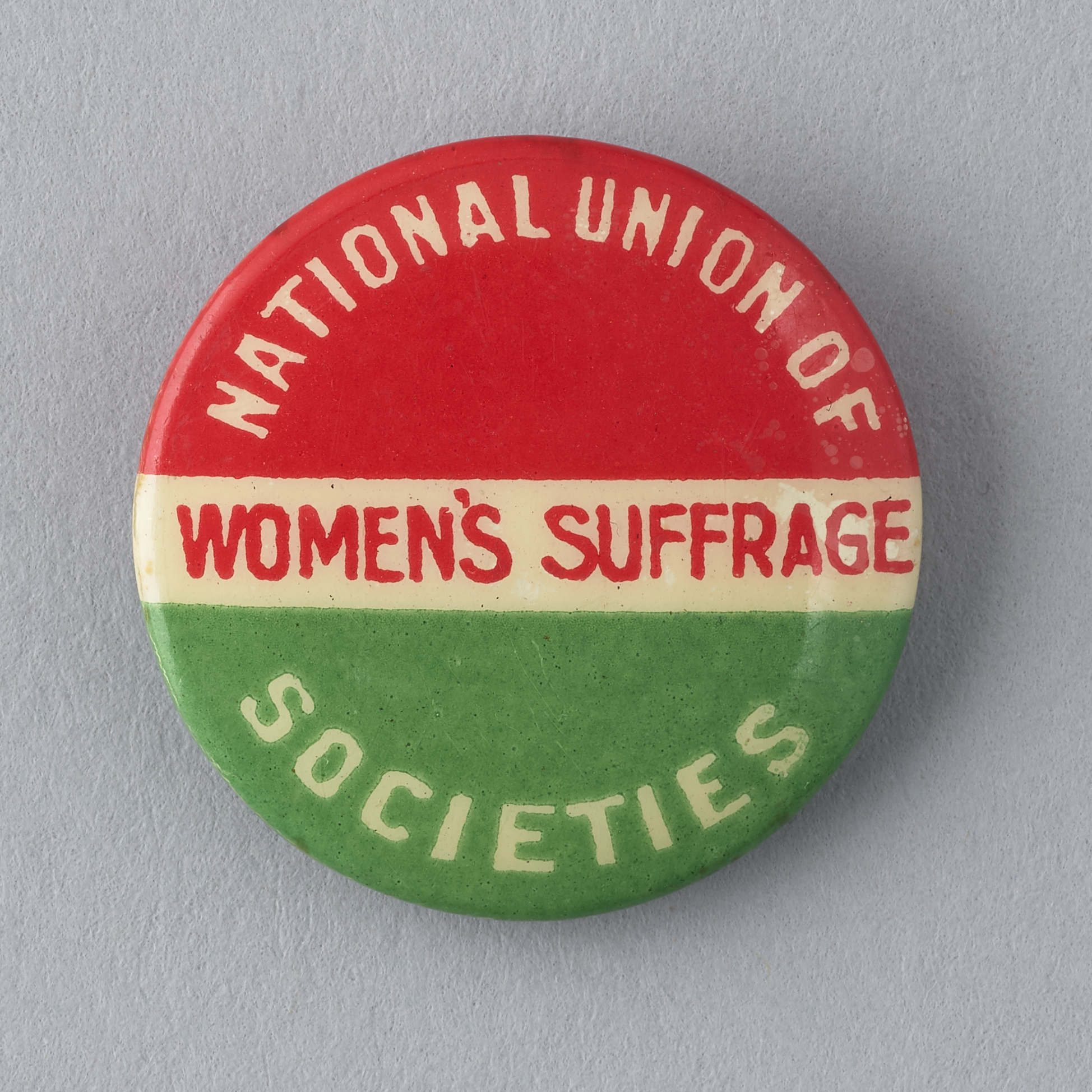 NUWSS lapel pin Parliamentary Art Collection