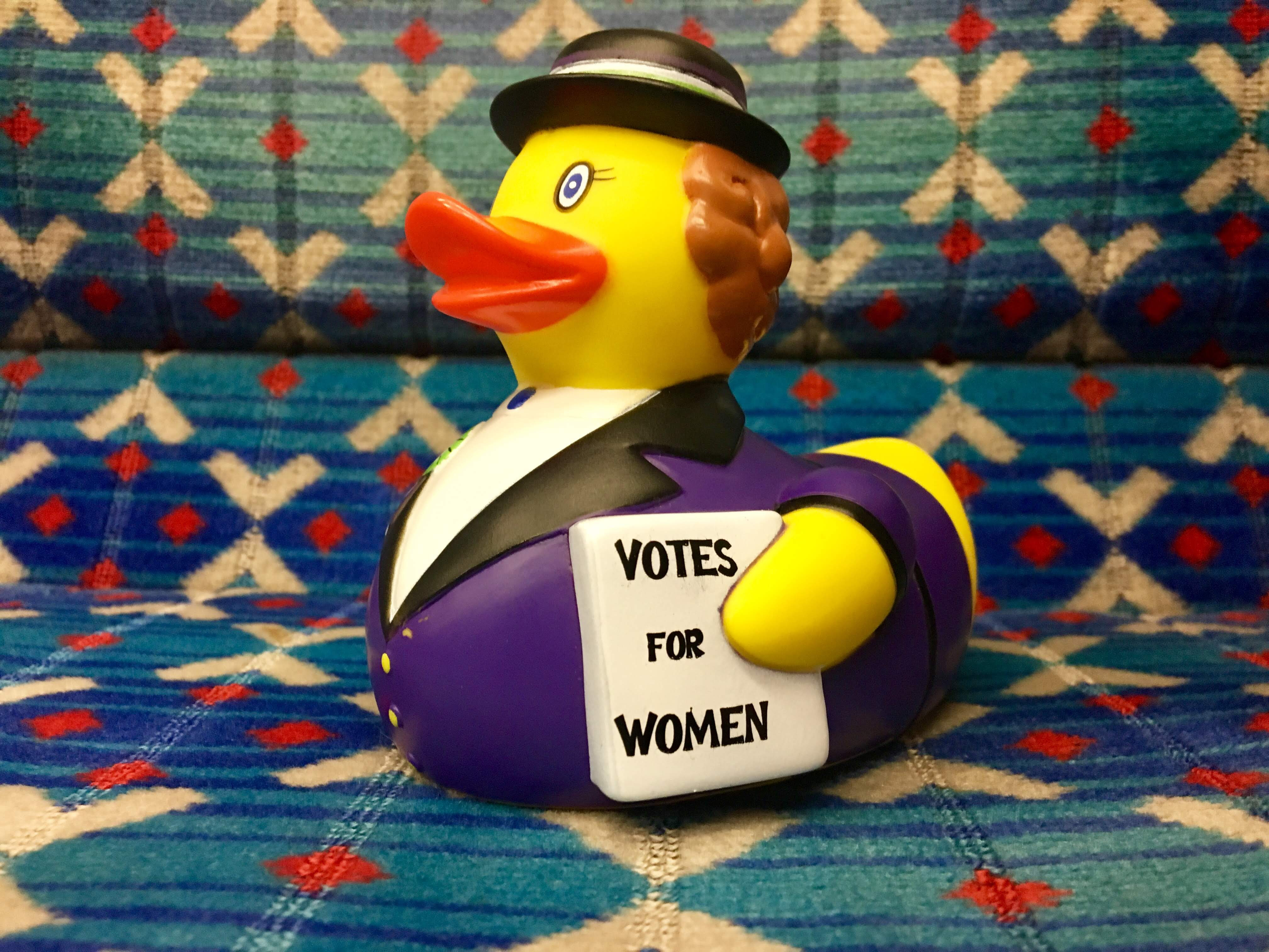 Voice and Vote - Suffraduck