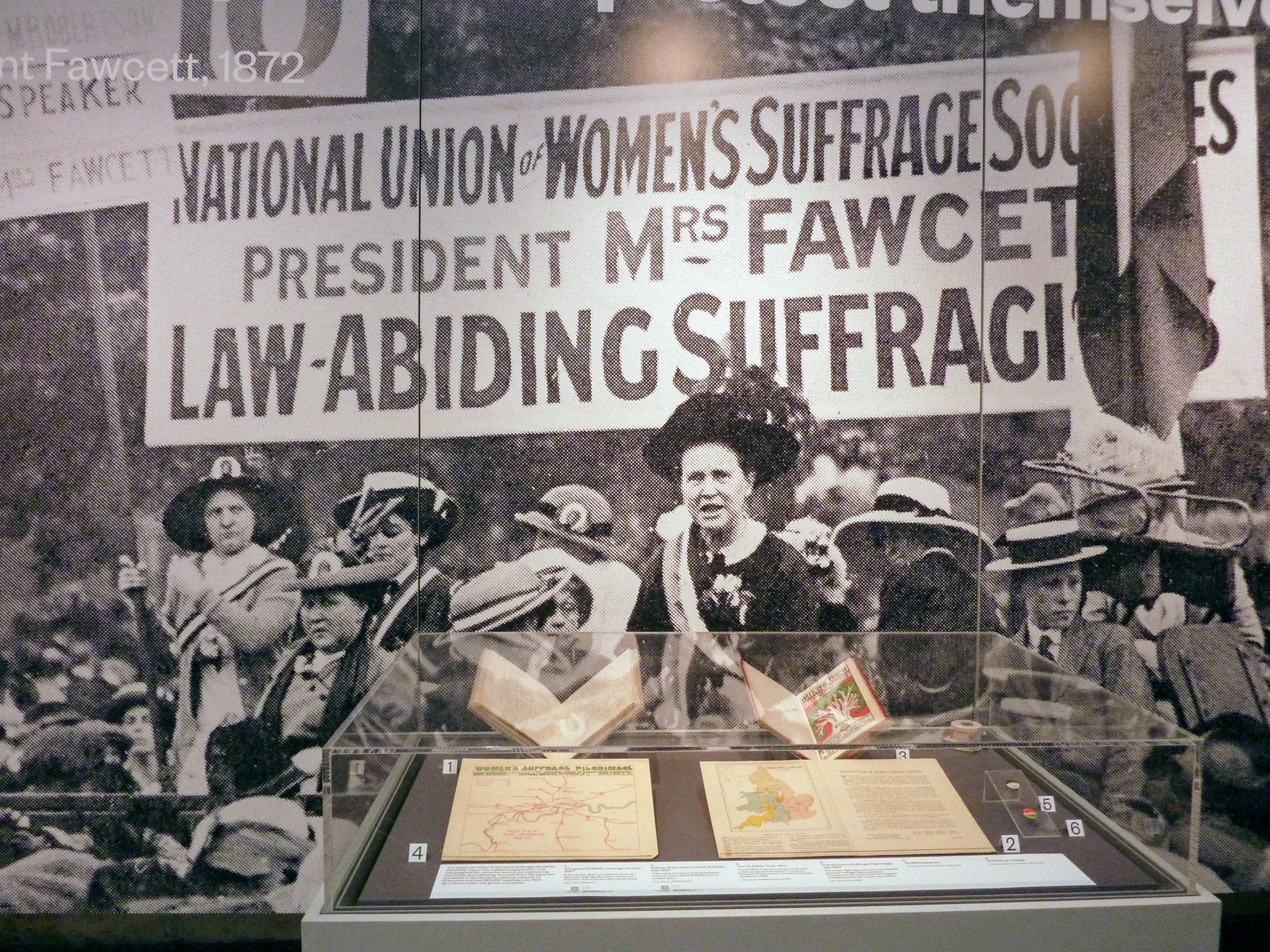 Voice and Vote: Millicent Fawcett