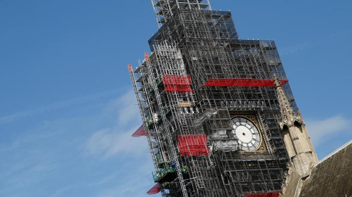 Travel Alert: Reminder – Big Ben is Still Covered in Scaffolding and Will Ruin Your Tourist Pictures Until 2021
