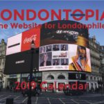London Alert: 2019 Londontopia Calendars Now Available to Order – Reserve Now!