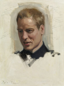 Nicky Philipps, Preparatory sketch of Prince William, 2009