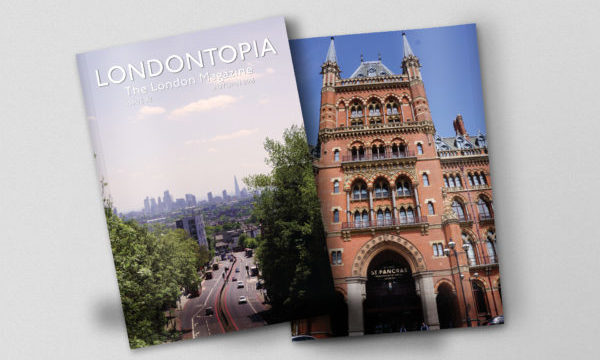 Londontopia Magazine: Cover Reveal for Issue #2 – All New Subs Start With Issue #2 – Pre-order Now!
