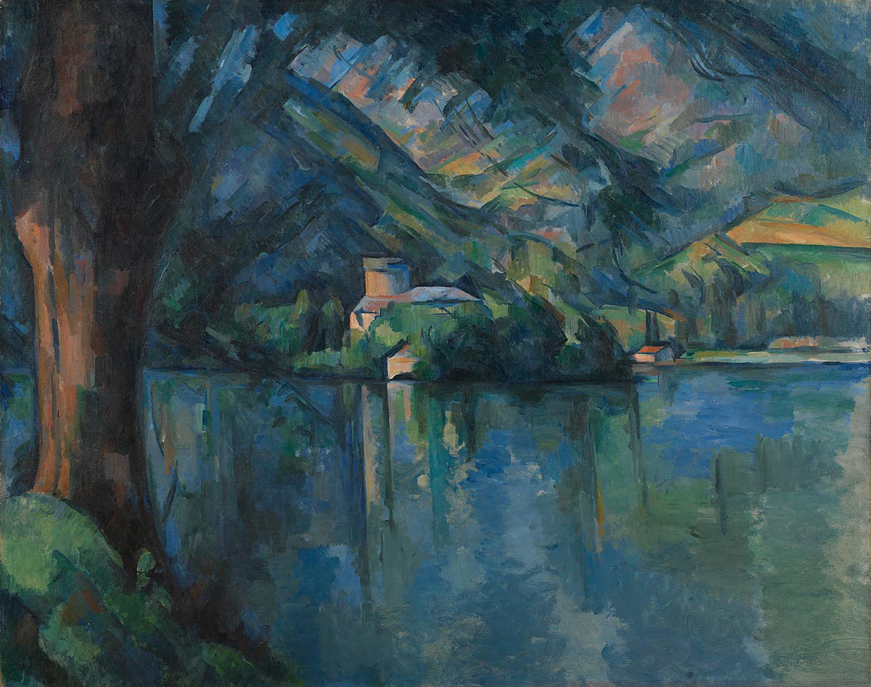 Lac d'Annecy - Paul Cézanne, 1896