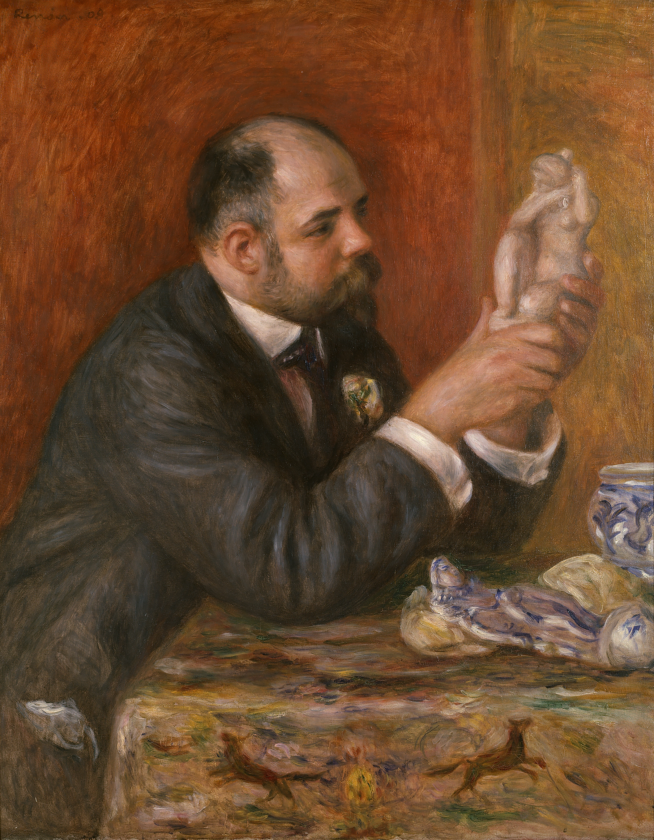 Portrait of Ambroise Vollard - Pierre-Auguste Renoir, 1908