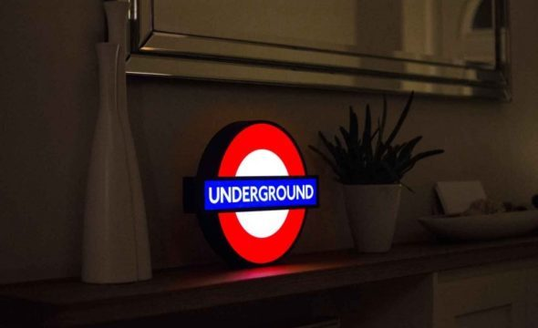 LONDON Alert! It's Back! The London Underground Tube Lightbox is Back With Limited Stock!