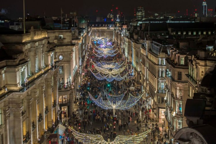 Top Ten London: 10 Best Places to Spot Christmas Decorations in London