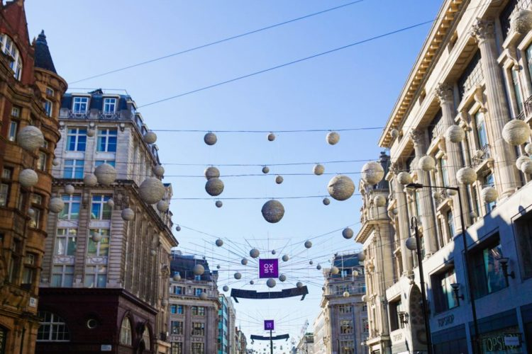 London Alert: Oxford Street Christmas Lights Will Be Switched On Tuesday, November 6th