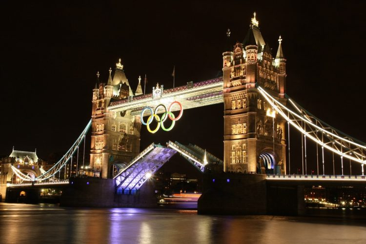 How well is London Represented by Today's Biggest Sports Stars?
