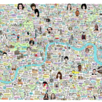 London Maps: Check Out This Beautiful New Map of London History and Culture