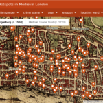 London History: The Medieval London Murder Map Released by University of Cambridge