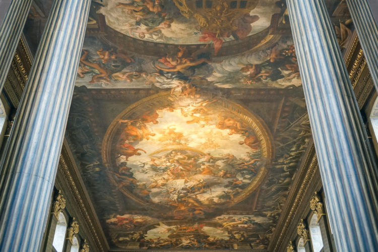 London Alert: The Painted Hall in Greenwich to Re-Open in March After Multi-year Restoration