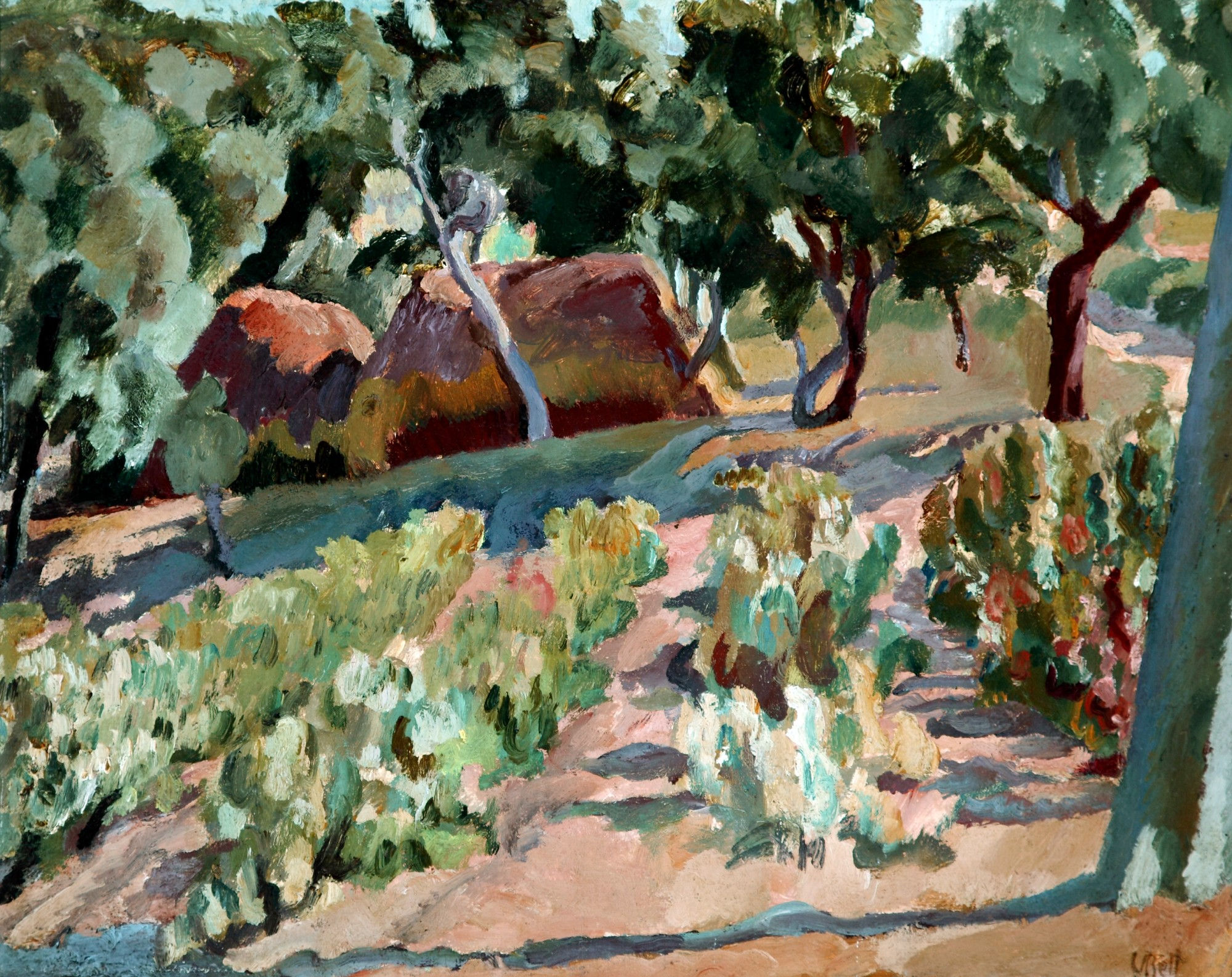 Vanessa Bell (1879 – 1961) - The Vineyard. Date unknown. The Atkinson, Lord Street, Southport. The Estate of Vanessa Bell, courtesy of Henrietta Garnett