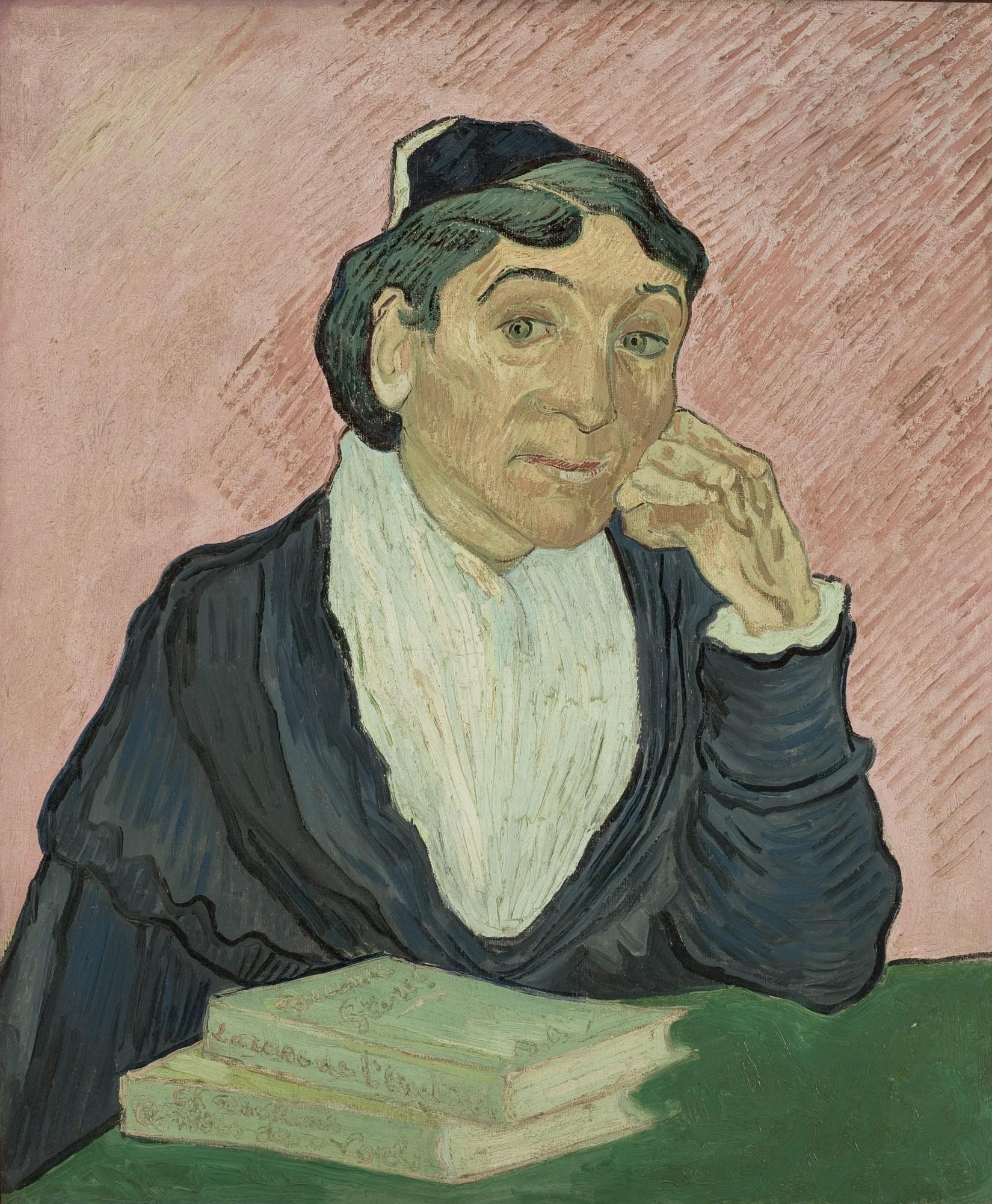 Van Gogh - L'Arlesienne 1890 - Edited