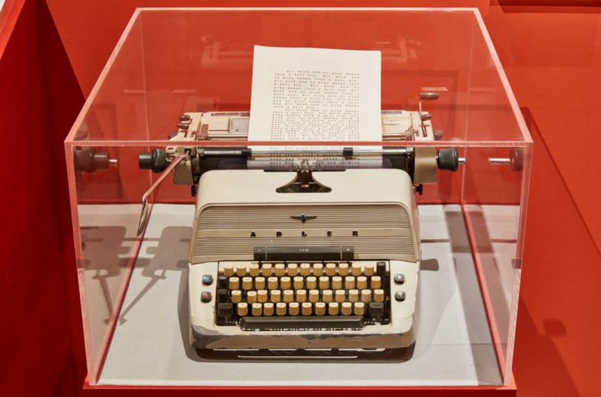Jack's typewriter from The Shining (original prop).