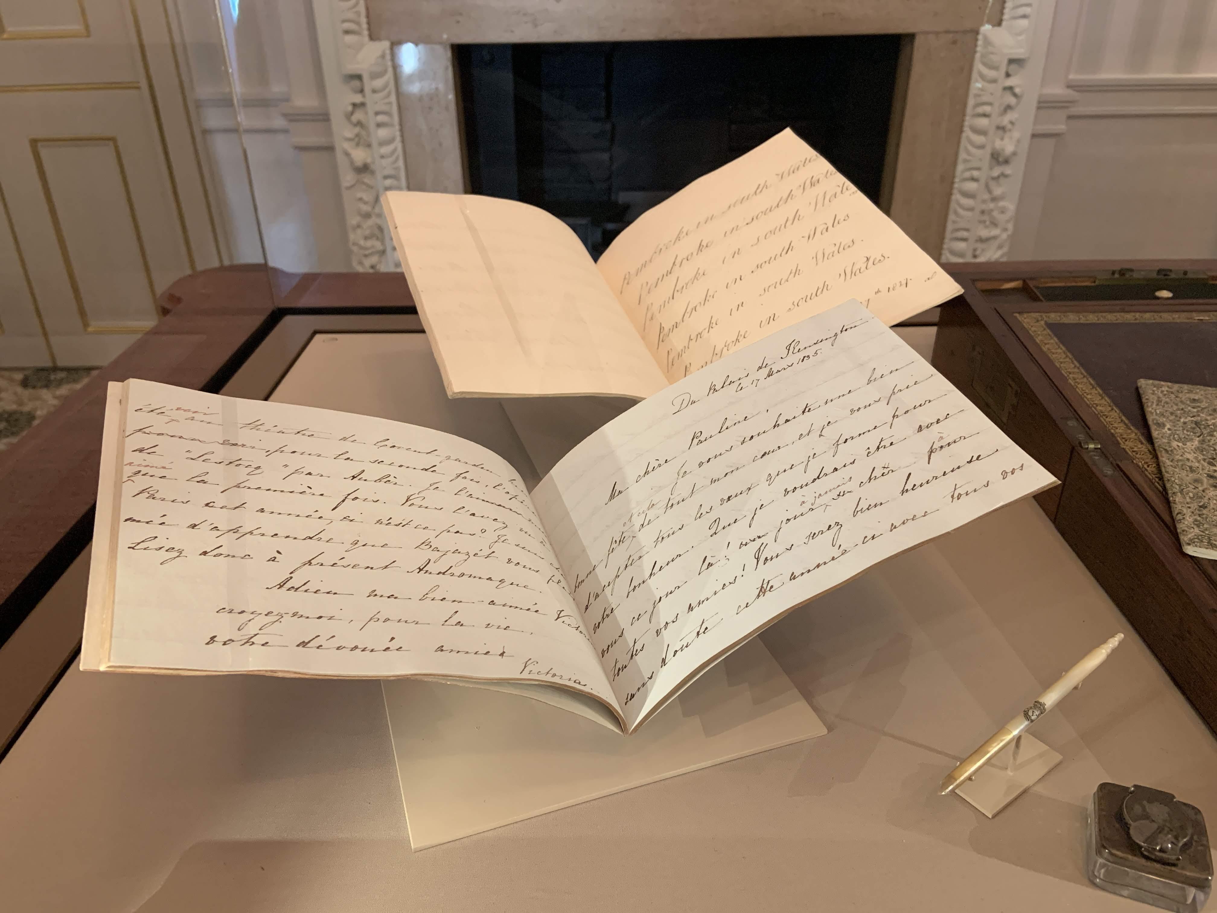 Victoria's handwriting exercise books, 1827