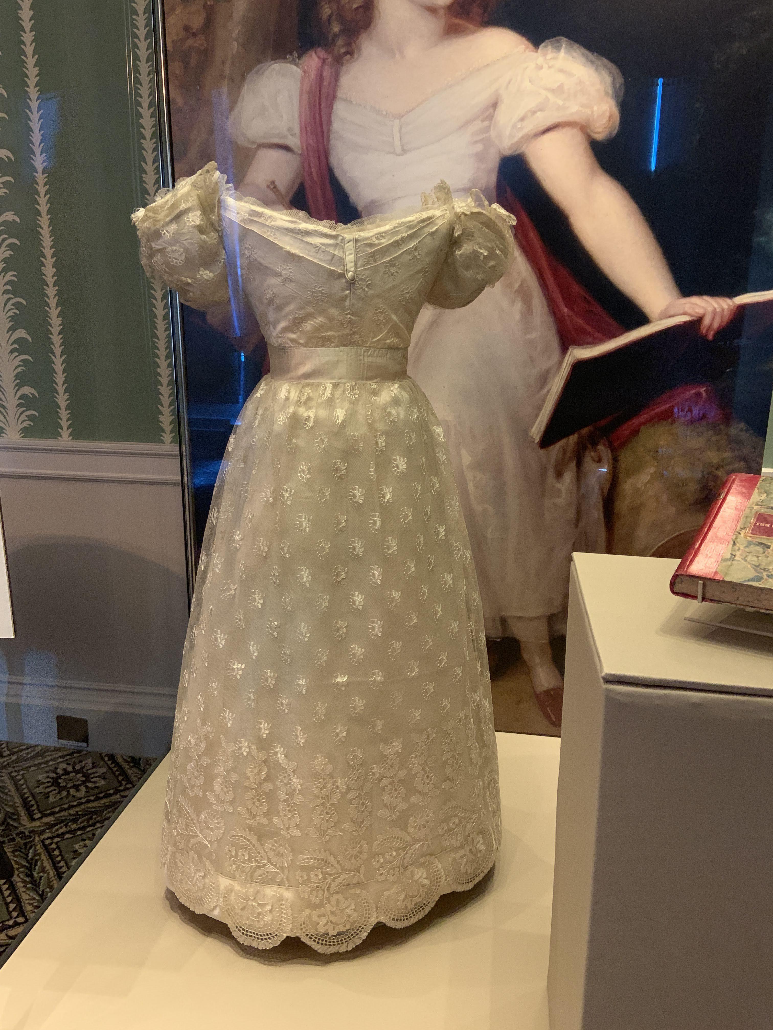 Queen Victoria's earliest surviving dress