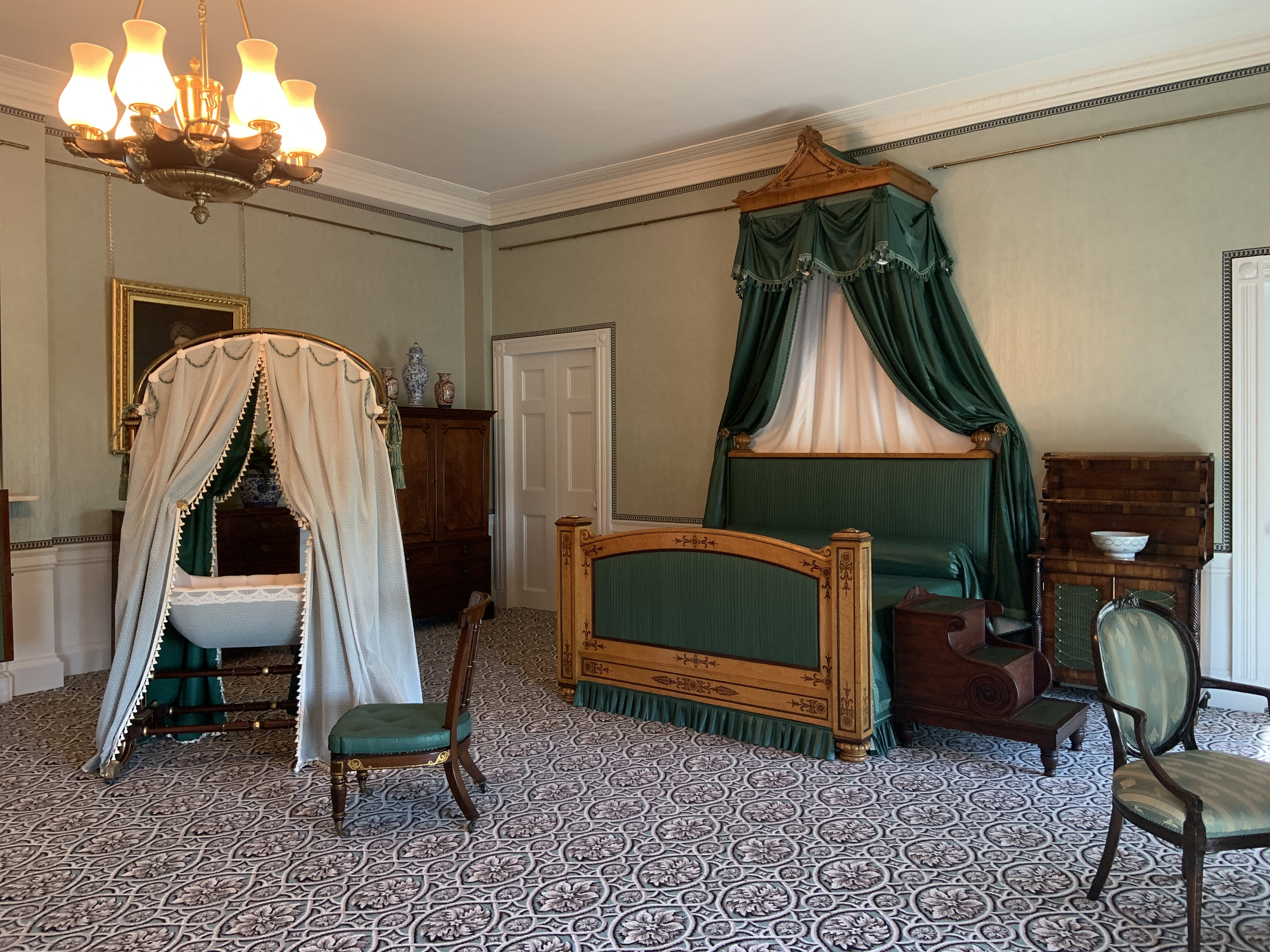 The room where Queen Victoria was born in Kensington Palace
