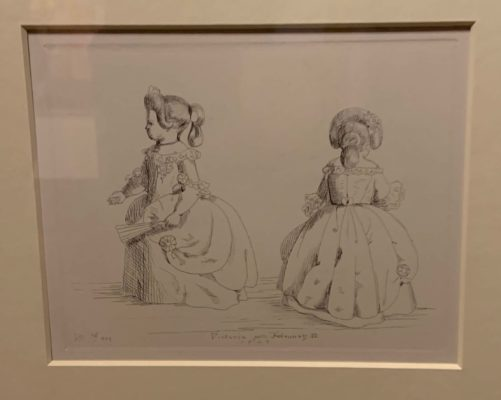 Etching by Queen Victoria