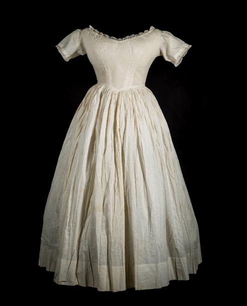 Queen Victoria petticoat c.1840.
