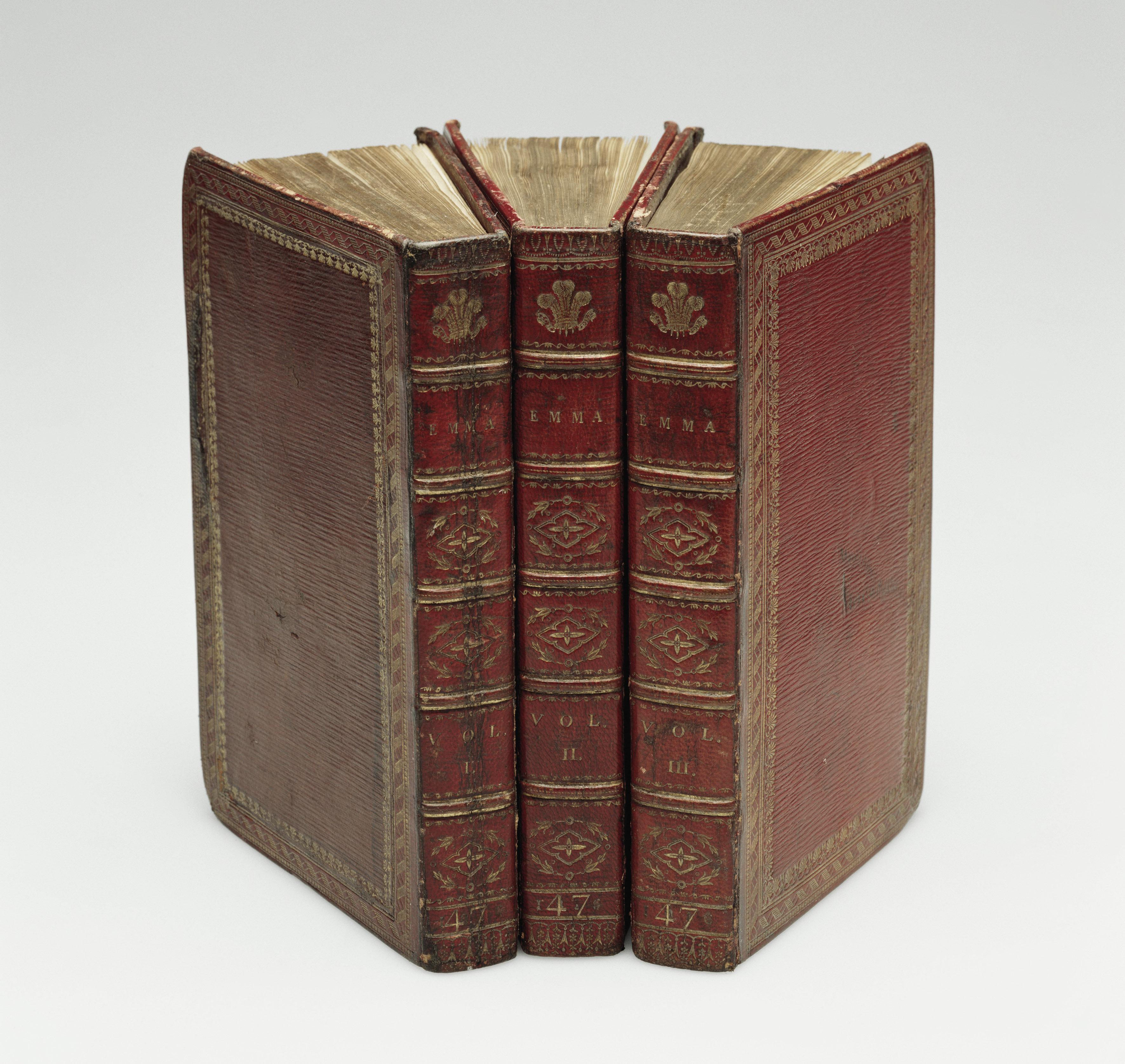 Jane Austen, Emma: a novel in three volumes, 1816