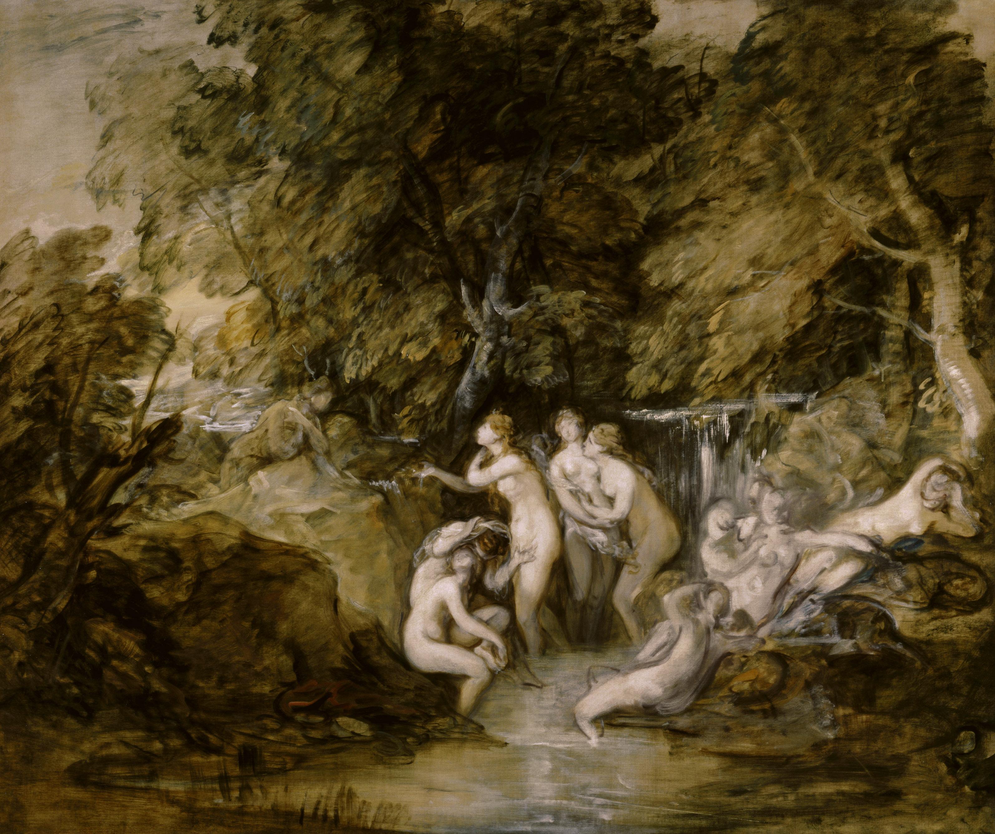 Thomas Gainsborough, Diana and Actaeon, c.1785-8