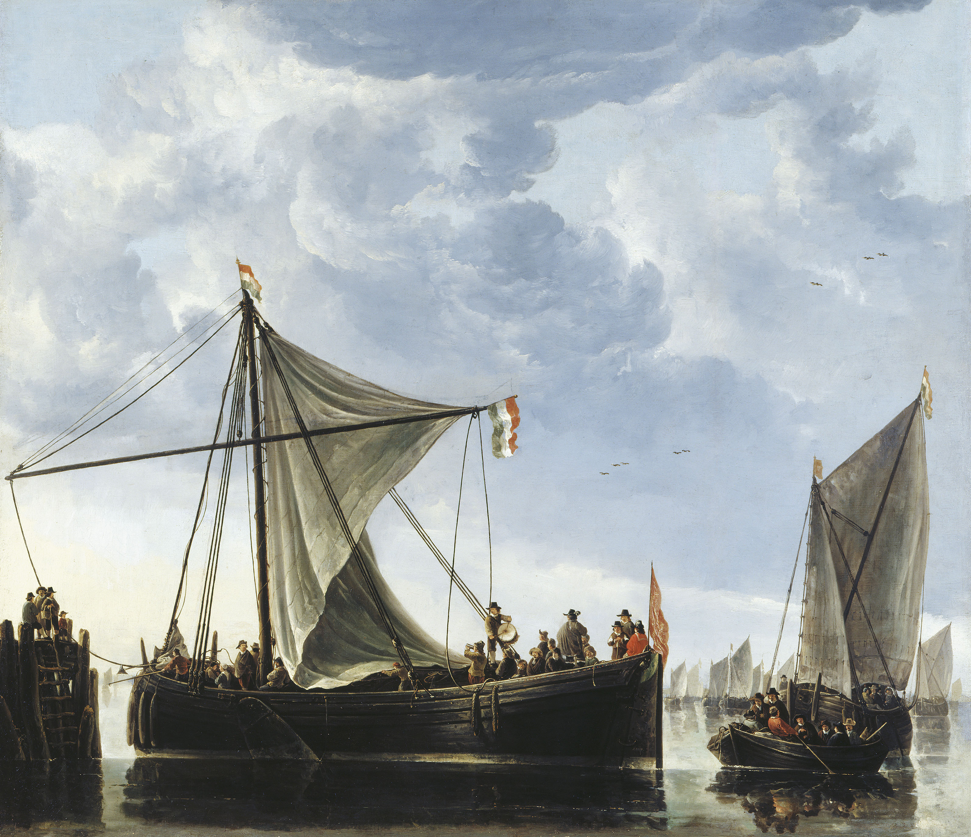 Aelbert Cuyp, The Passage Boat, c.1650