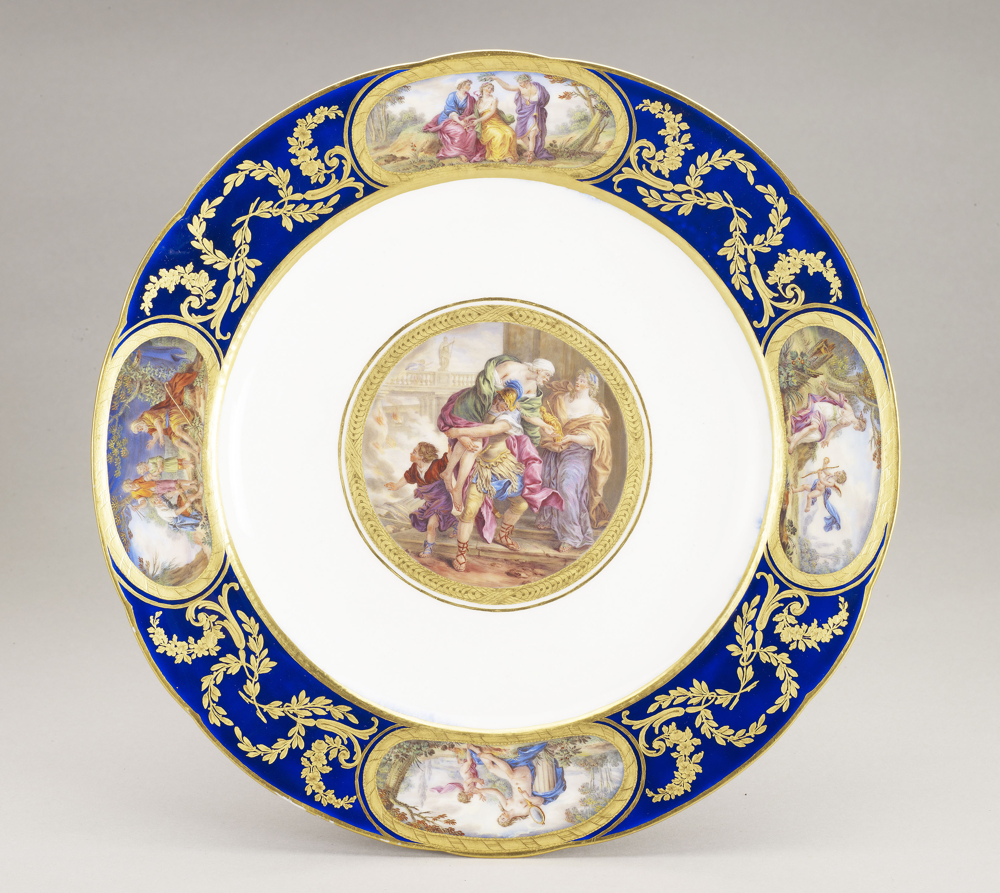 Sevres, Dinner plate from the Louis XVI service, 1783-92
