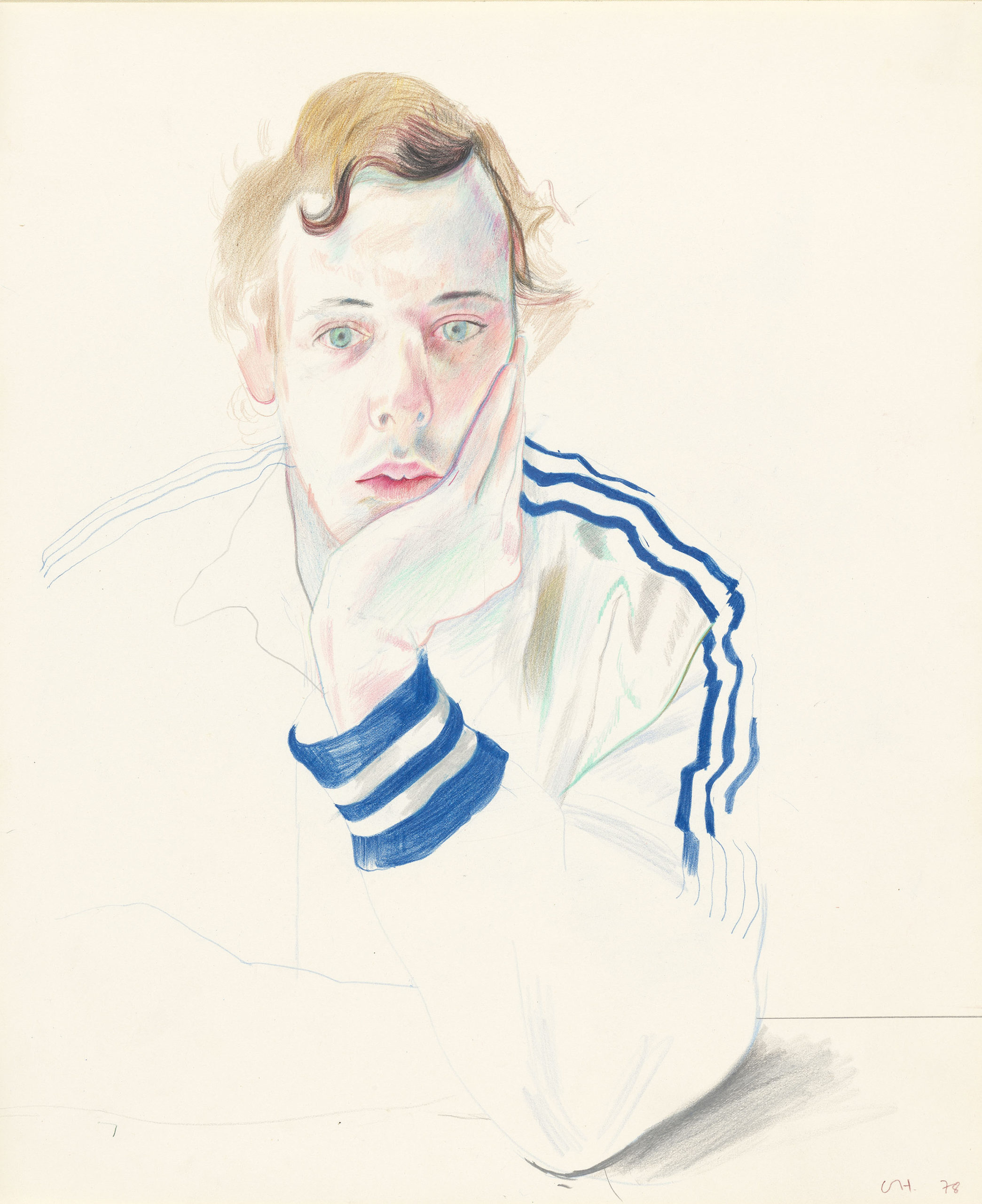 David Hockney ' Gregory, 1978