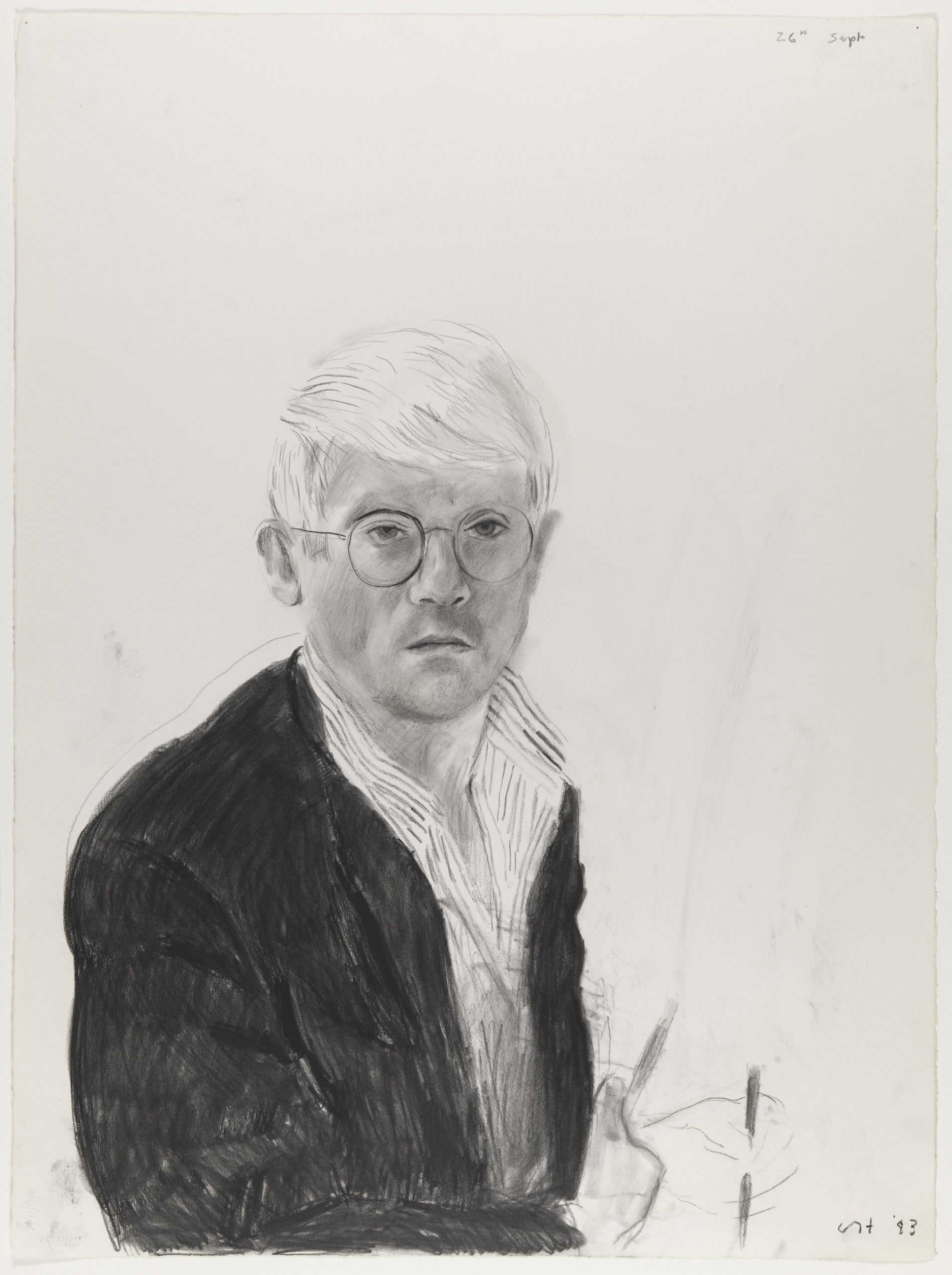 David Hockney - Self-portrait 26th Sept., 1983