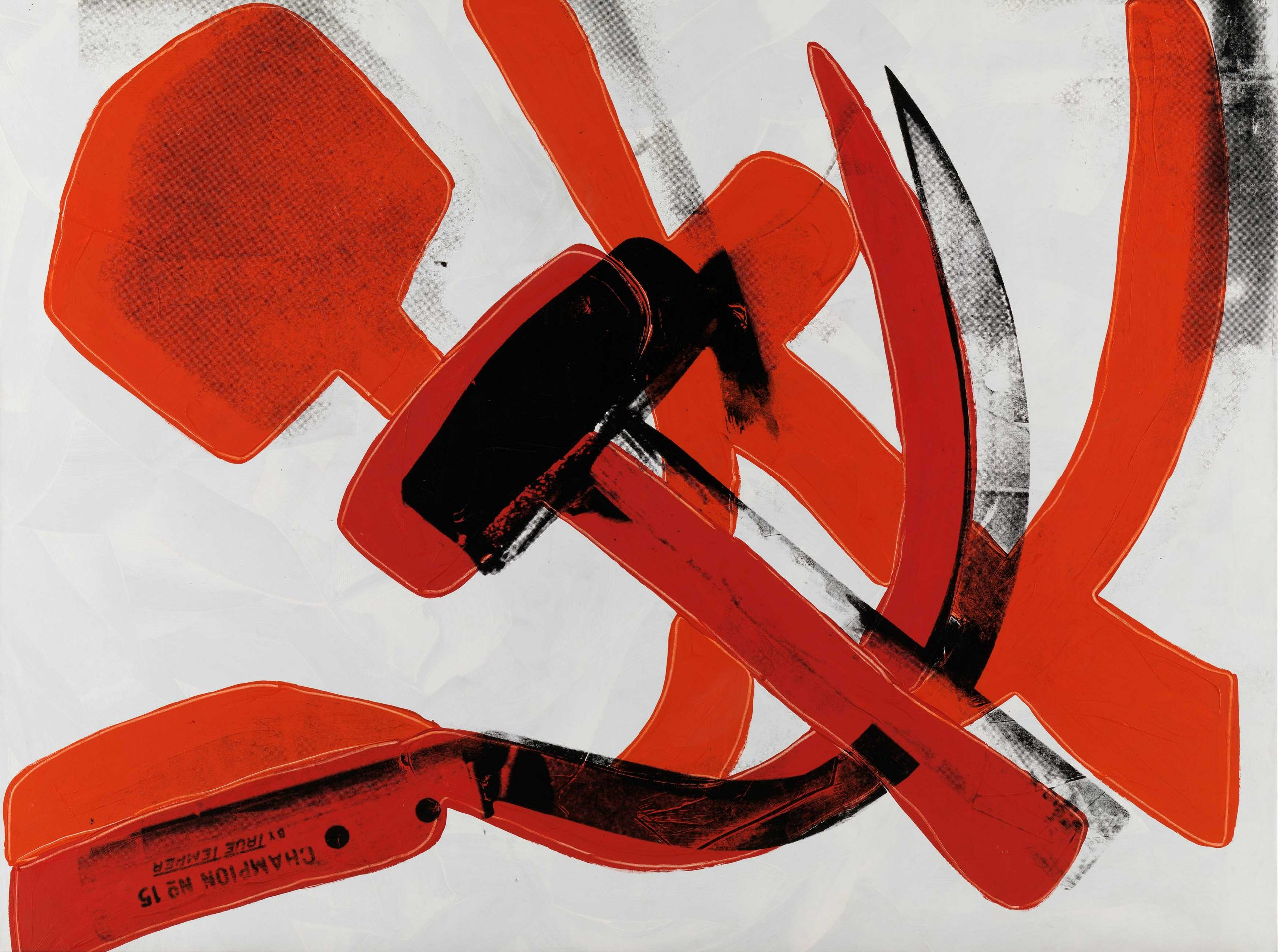 Andy Warhol - Hammer and Sickle