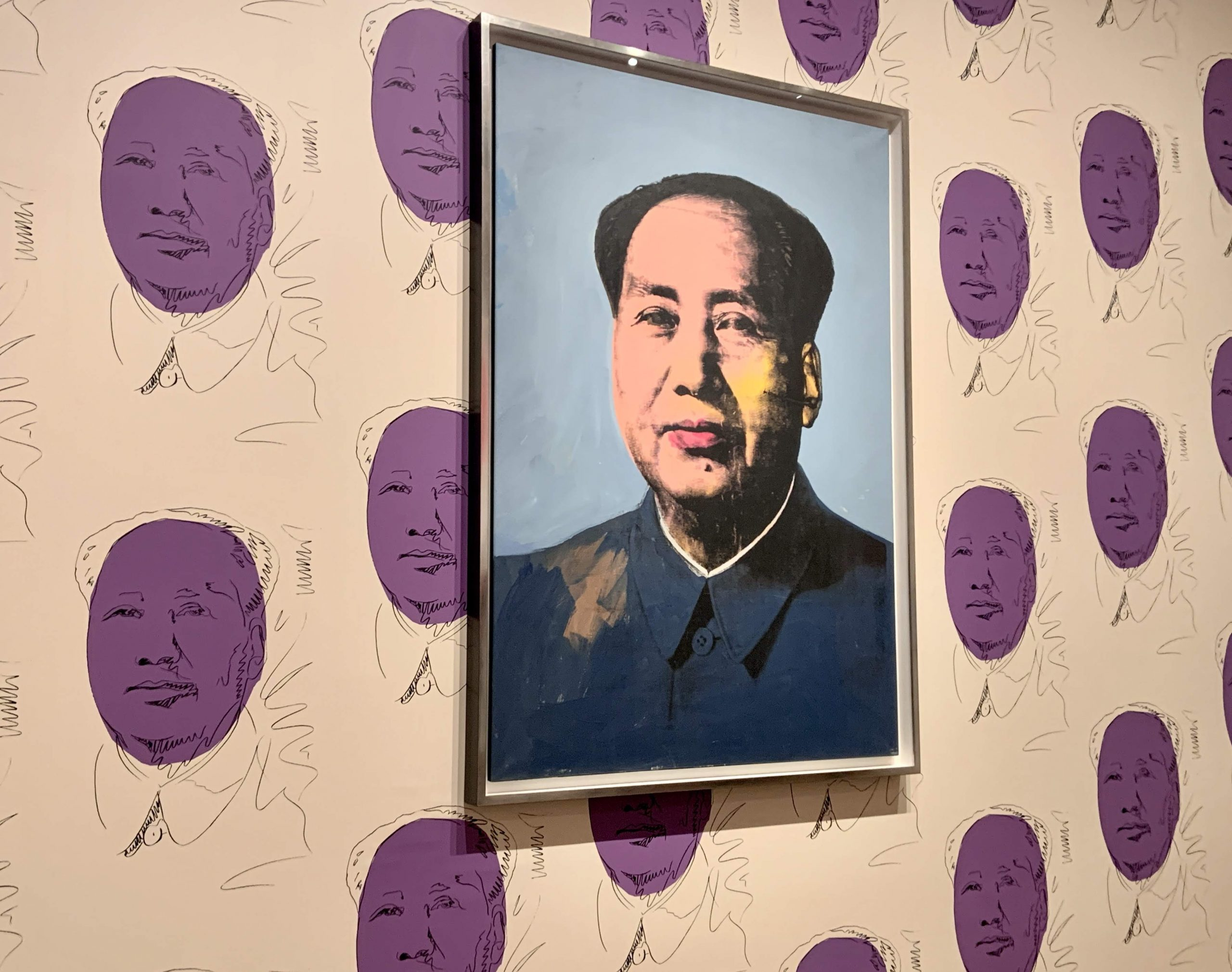 Andy Warhol - Mao (1972)