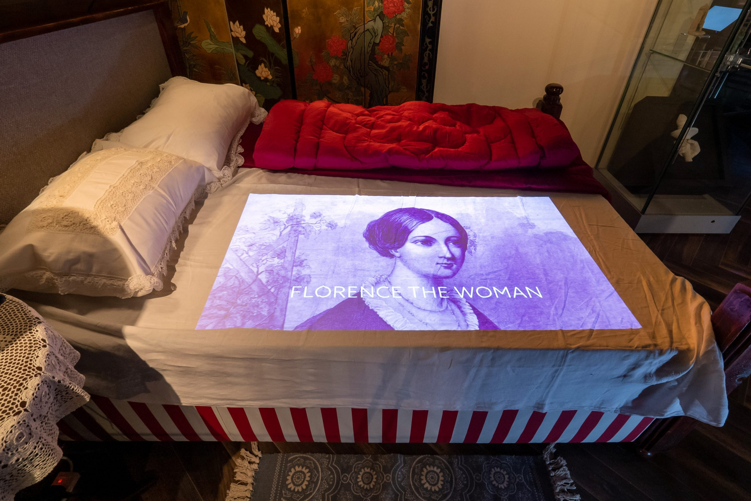 Florence Nightingale Museum - her bed