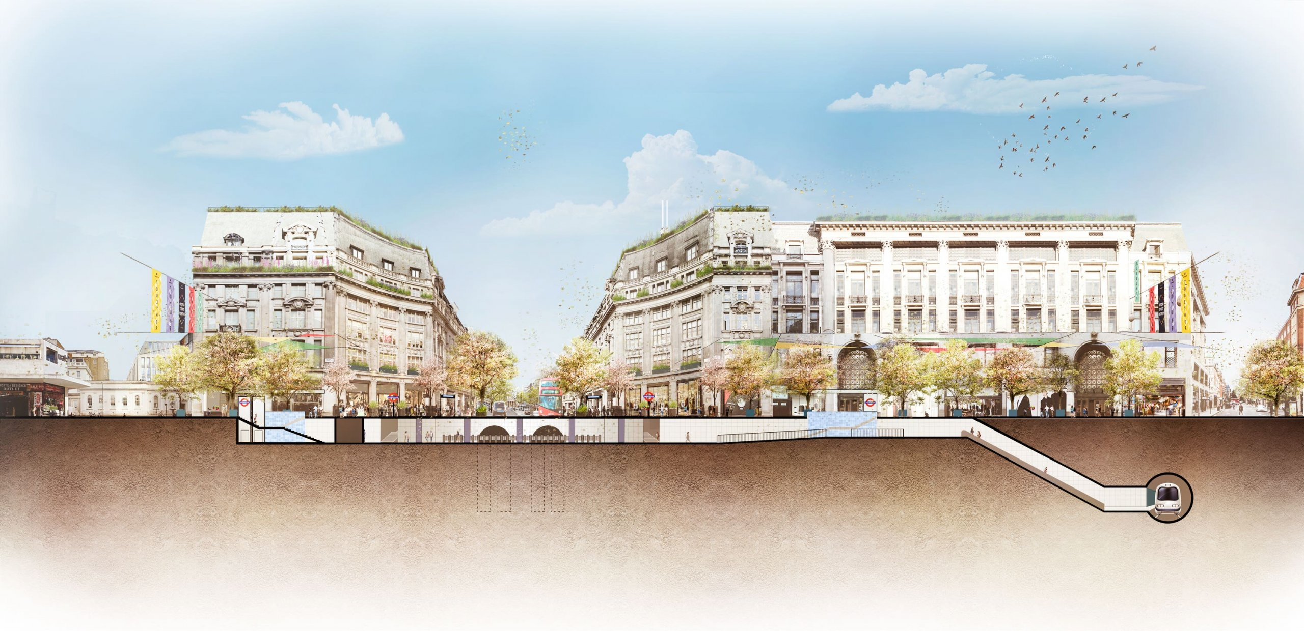 Oxford Circus finally to be partially pedestrianized starting this summer